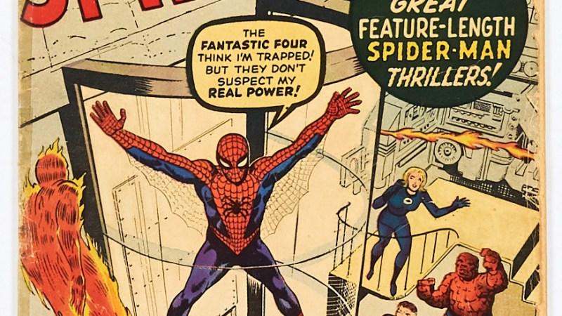 Compal Comics offers more Bob Monkhouse British comic art gems, Amazing Spider-Man #1