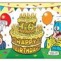 Beano 4022 - Happy Birthday, Bananaman!