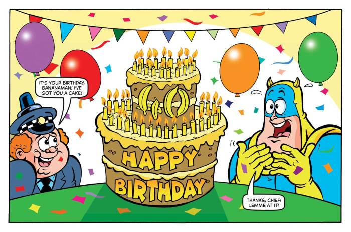 Beano 4022 - Happy Birthday, Bananaman!