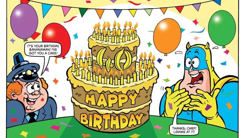 Happy Birthday, Bananaman – 40 Years Young!