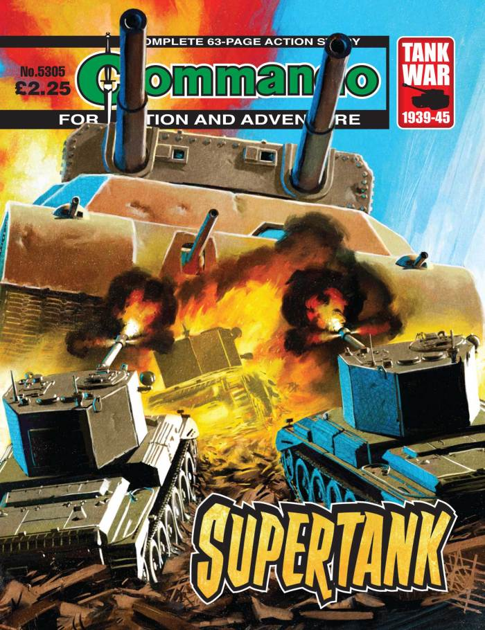 Commando 5305 - Action and Adventure: Supertank