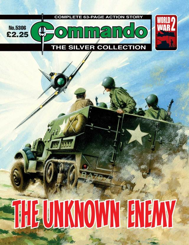 Commando 5306 - Silver Collection: The Unknown Enemy