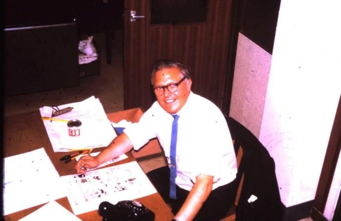 Polystyle comics editor John Harvey. Image courtesy John's family