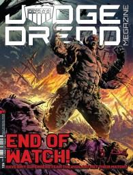 June: Judge Dredd Megazine Issue 421 featuring The Vigilant