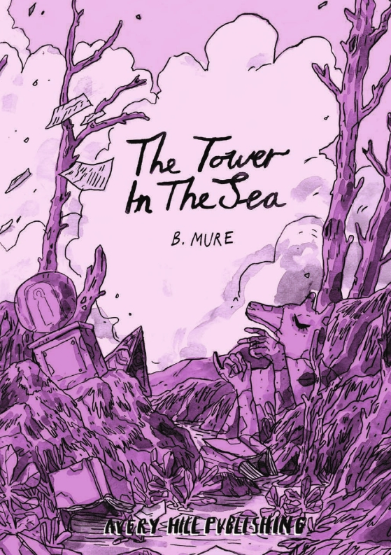 The Tower in the Sea by B. Mure - Cover