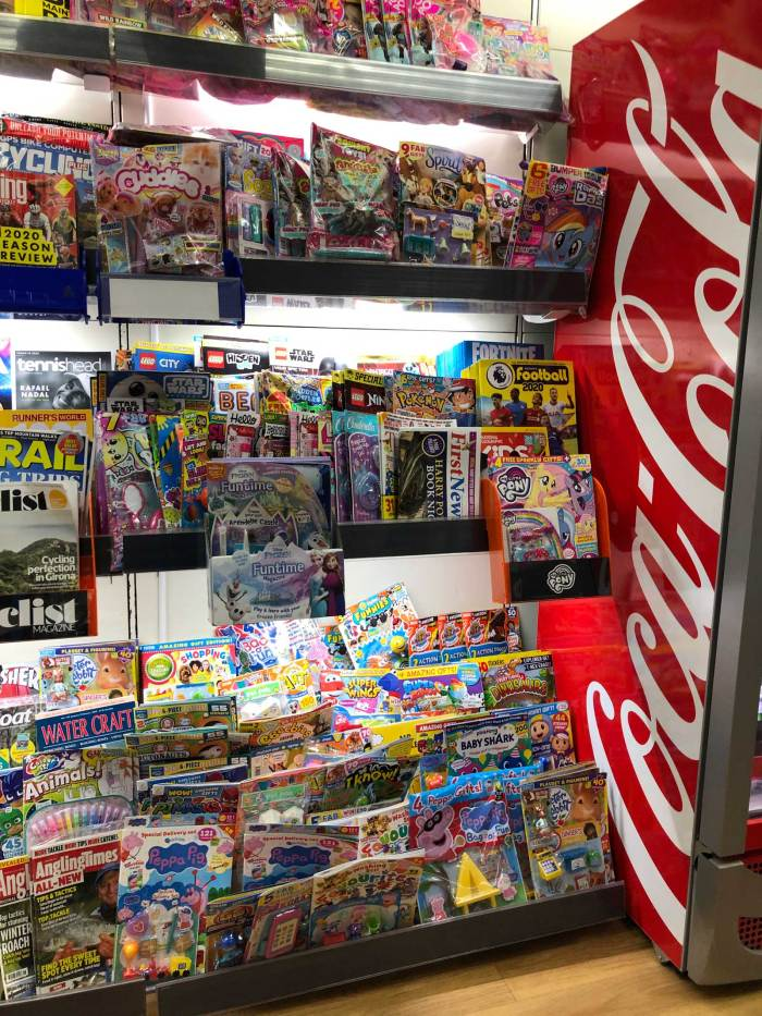 Good news for shoppers in WHSmith Kendal, where a store revamp has wisely given more space to magazines and comics - a welcome improvement