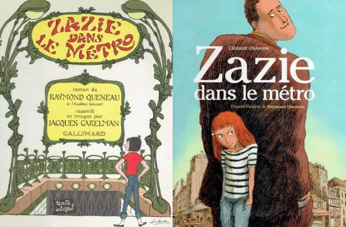 Zazie dans le métro Covers