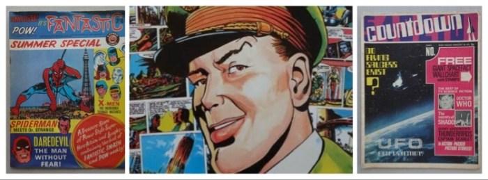 Phil-Comics - February 2020 Auction Montage - Dan Dare