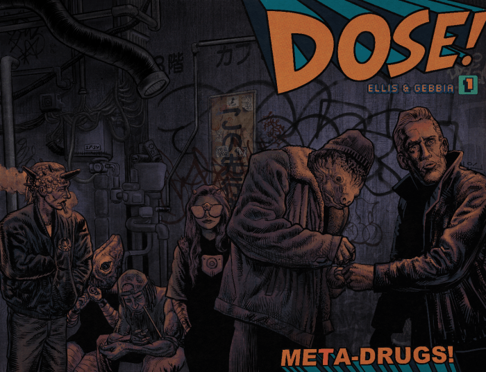 DOSE #1 Standard Cover by John Gebbia (wrap-around) - Cover A