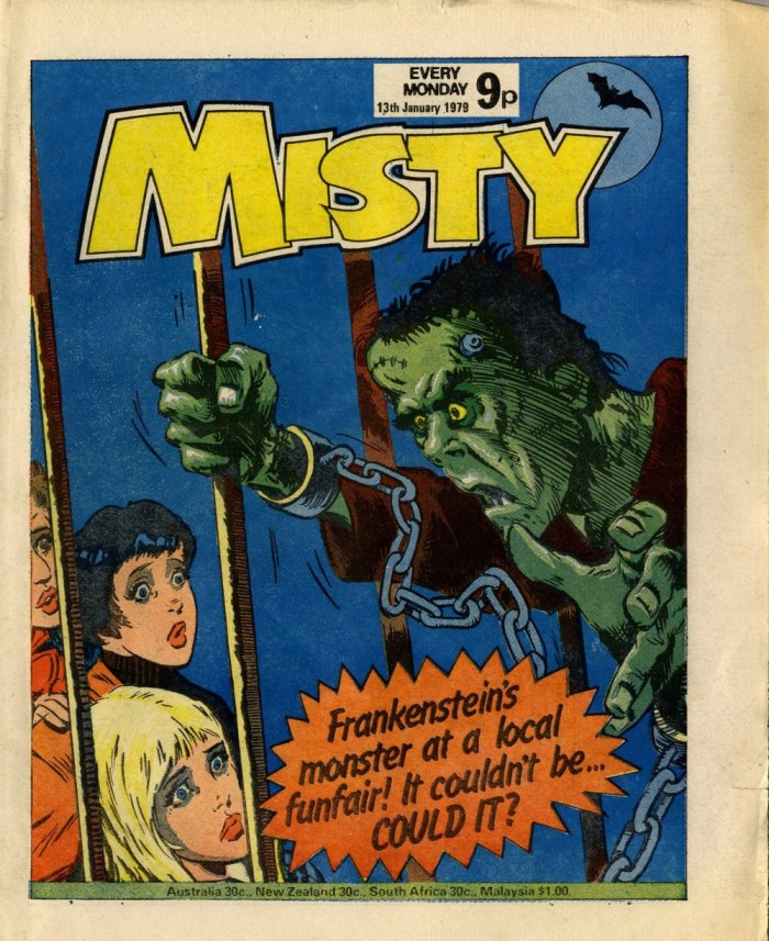 Misty, cover dated 13th January 1979