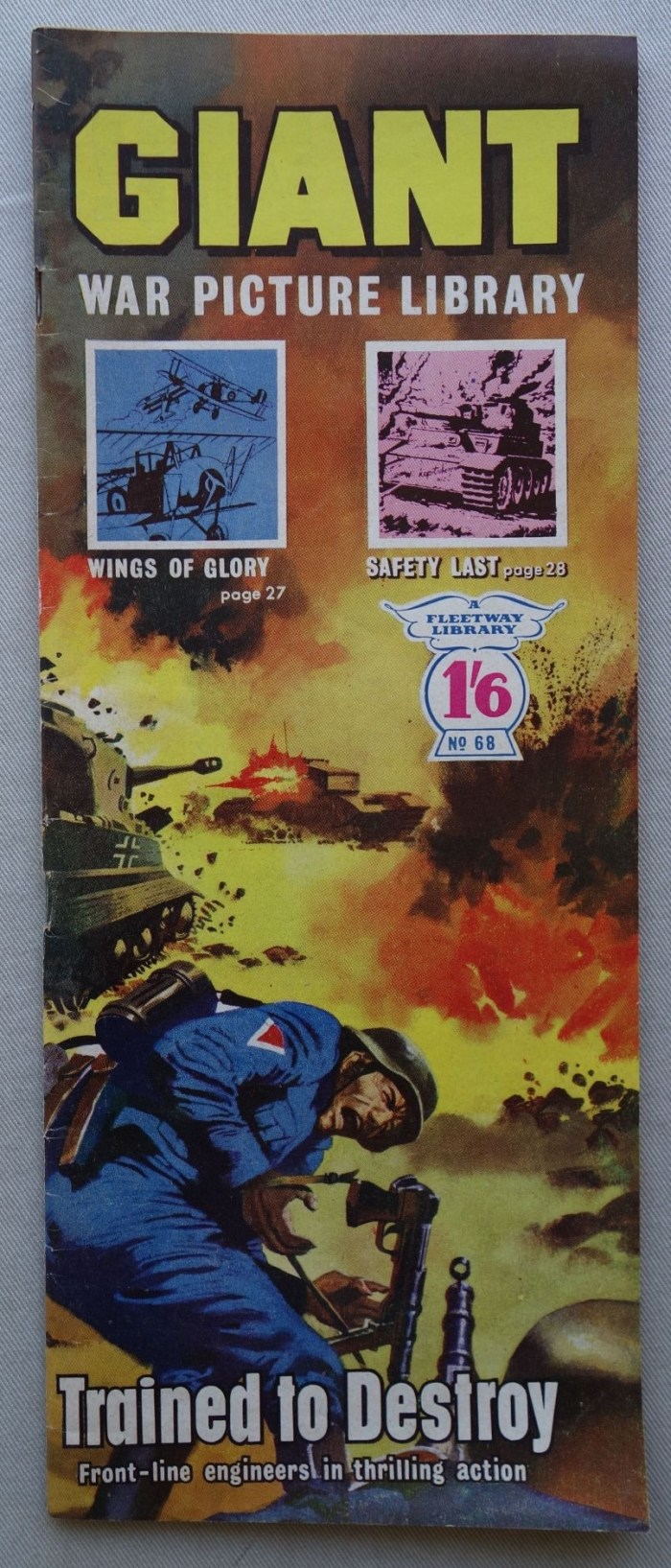 Giant War Picture Library Issue 68 (1965)