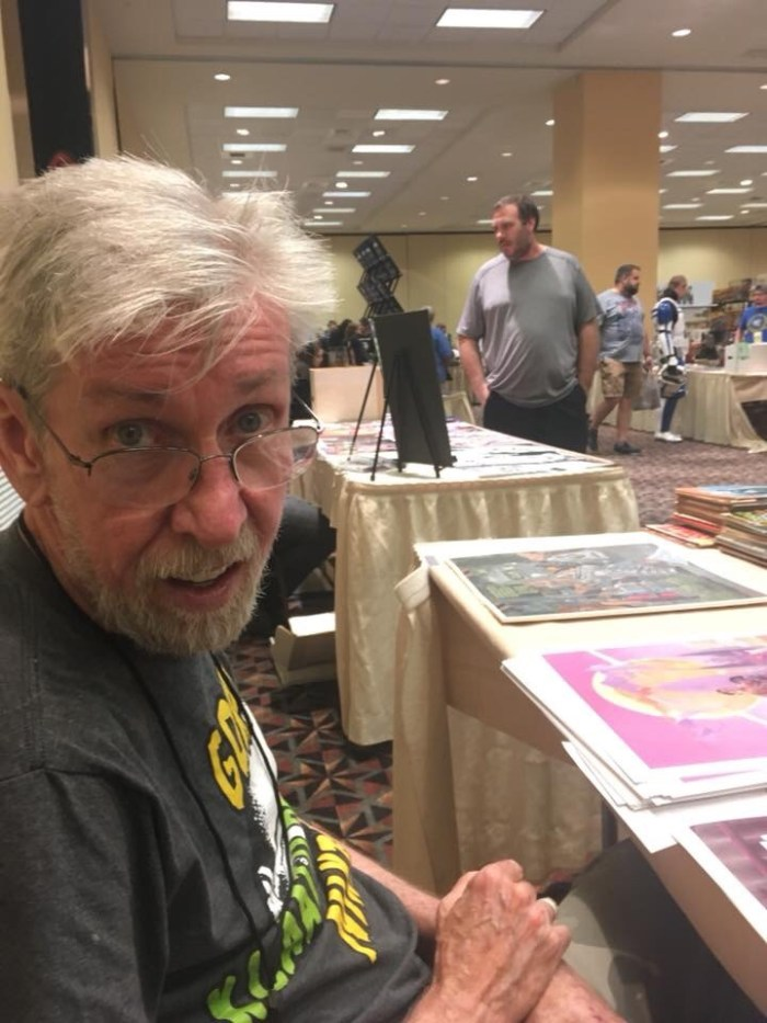 Comic artist and illustrator Tim Conrad