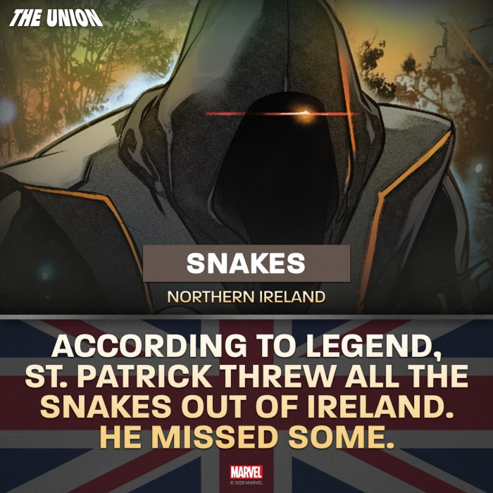 Marvel Comics - The Union - Snakes