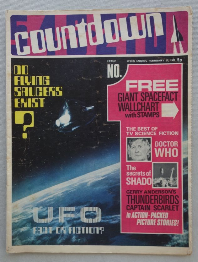 Countdown Issue 1, cover dated 20th February 1971