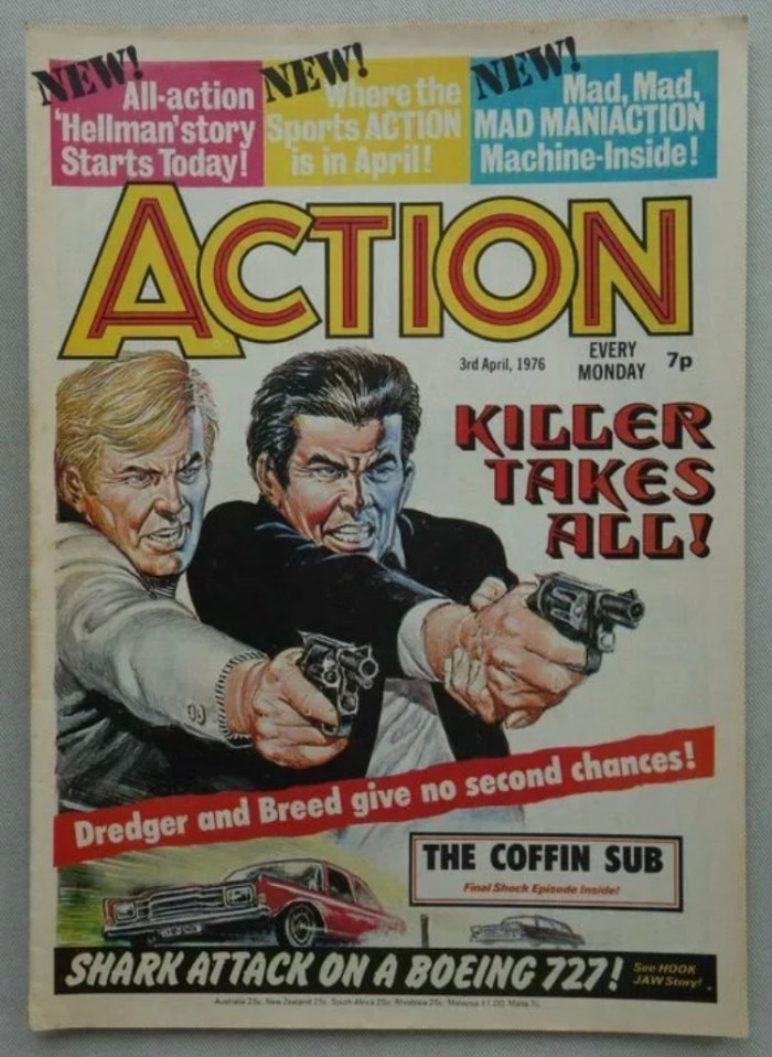 Action Issue 8, cover dated 3rd April 1976