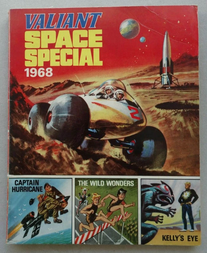 Valiant Comic Space Special Book 1968
