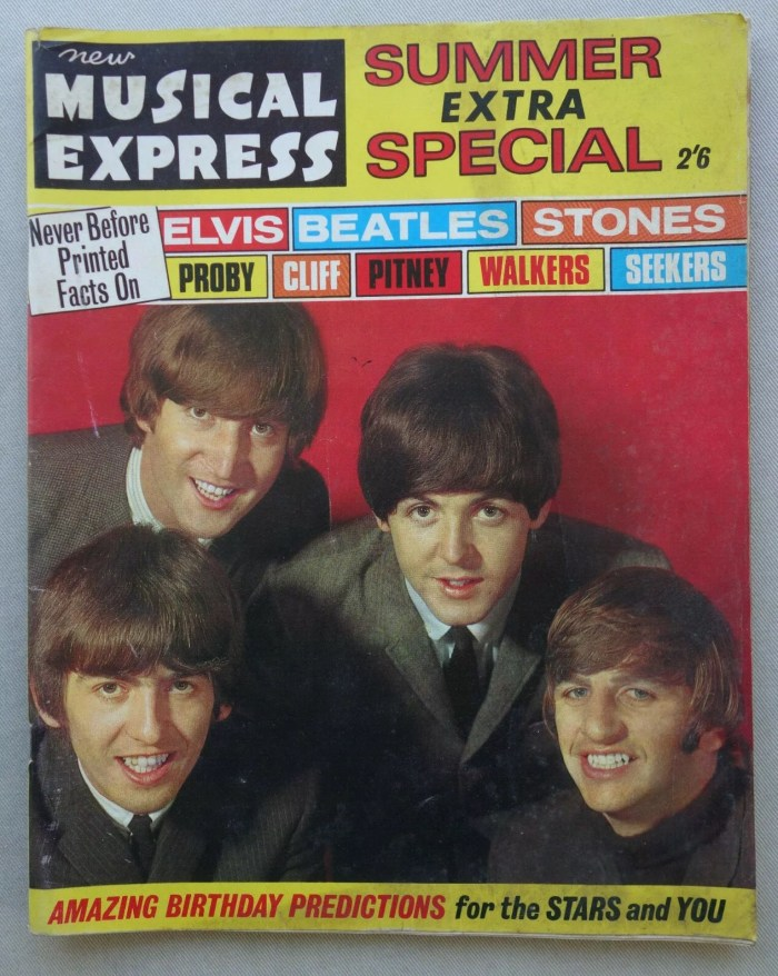 New Musical Express Summer Extra Special featuring The Beatles (1960s)