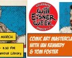 Paisley Central Library - Comic Art Masterclass with Ian Kennedy and Tom Foster (2020)