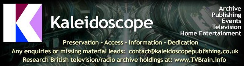"""Lost TV organisation Kaleidoscope launches """"Reading Room"""" sessions for archivists"""