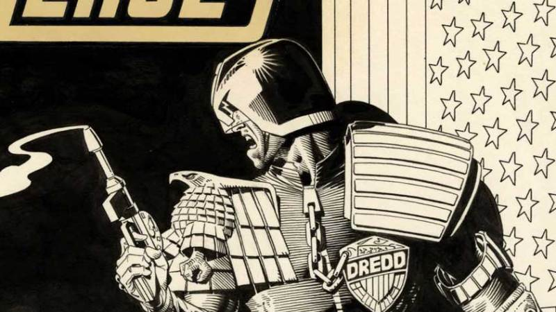 """Auction closes tonight for iconic Brian Bolland """"Amazing Heroes"""" cover, bids at $8000"""