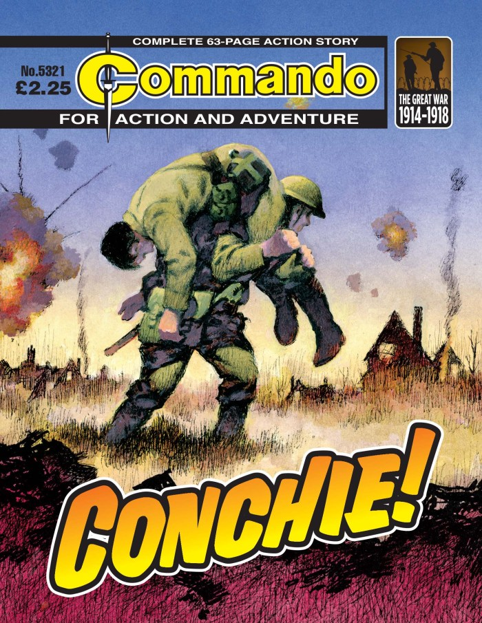 Commando 5321: Action and Adventure - Conchie!