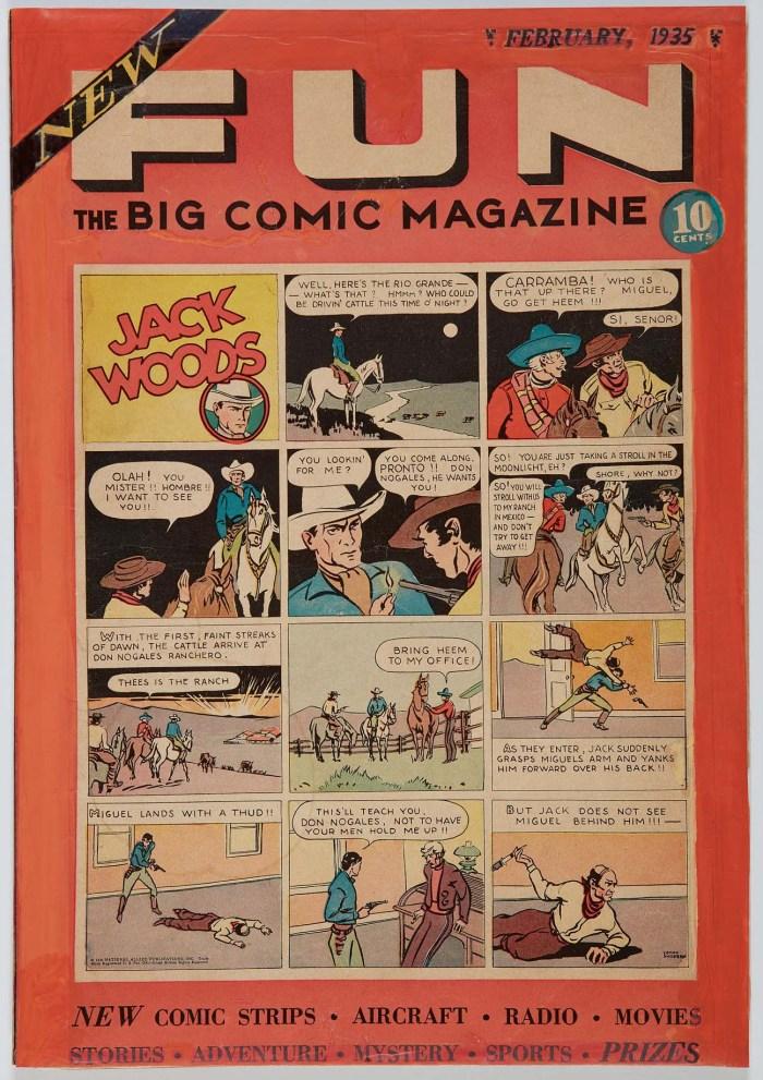 DC Comics FUN Comic - February 1935