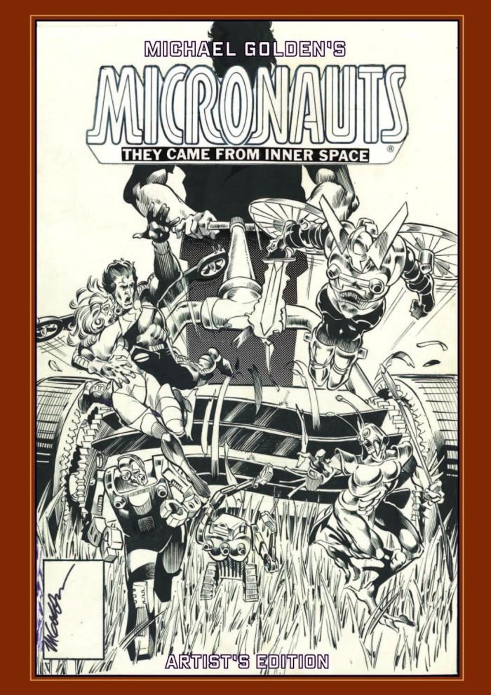 Michael Golden's Micronauts Artist's Edition Cover