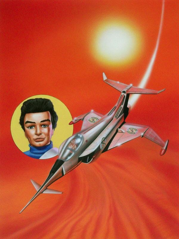 Thunderbirds - The Comic #73 - Cover Art