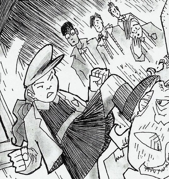 The Spencer Nero Club #1: Folklore and Fire - Sample Art