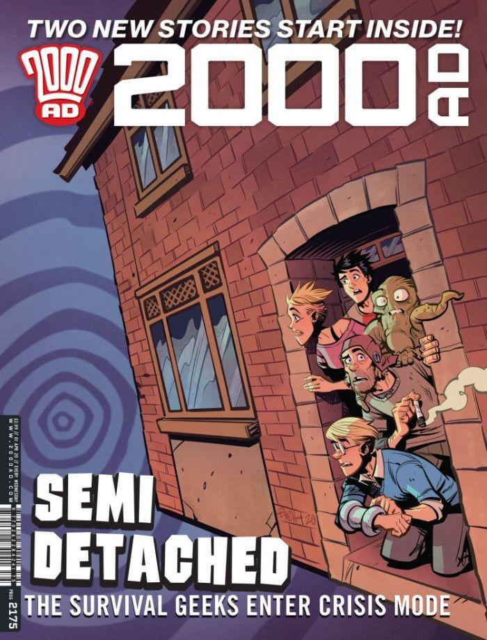 2000AD Prog 2175 - Cover