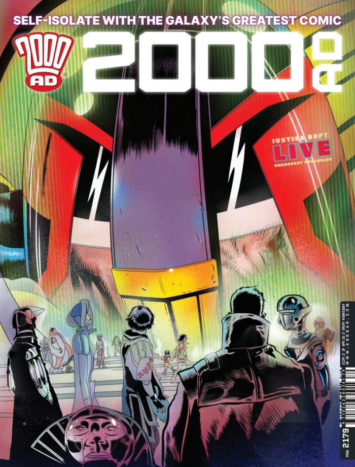 2000AD 2179 - Cover