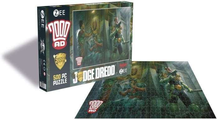 Zee Productions Judge Dredd Jigsaw (2020)