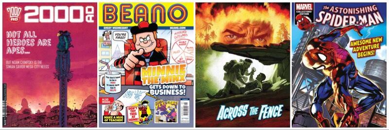 British Mainstream Comic Publishers – Coronavirus Pandemic Update