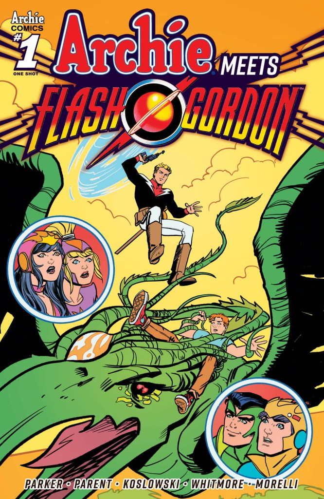 Archie Meets Flash Gordon - Variant Cover by Sandy Jarrell (2020)