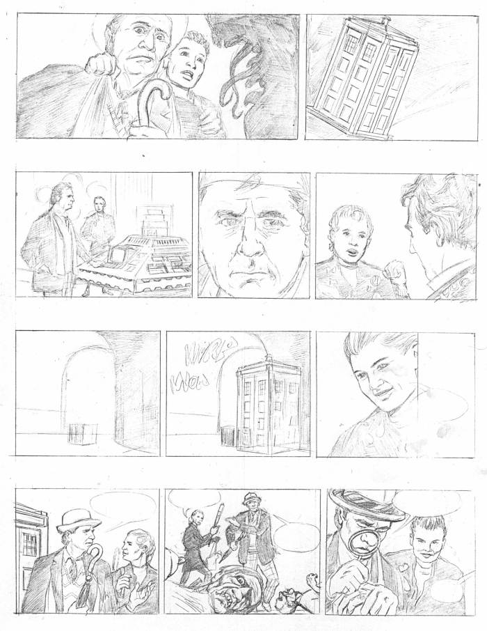 Doctor Who - Terror from the Deep - Roughs
