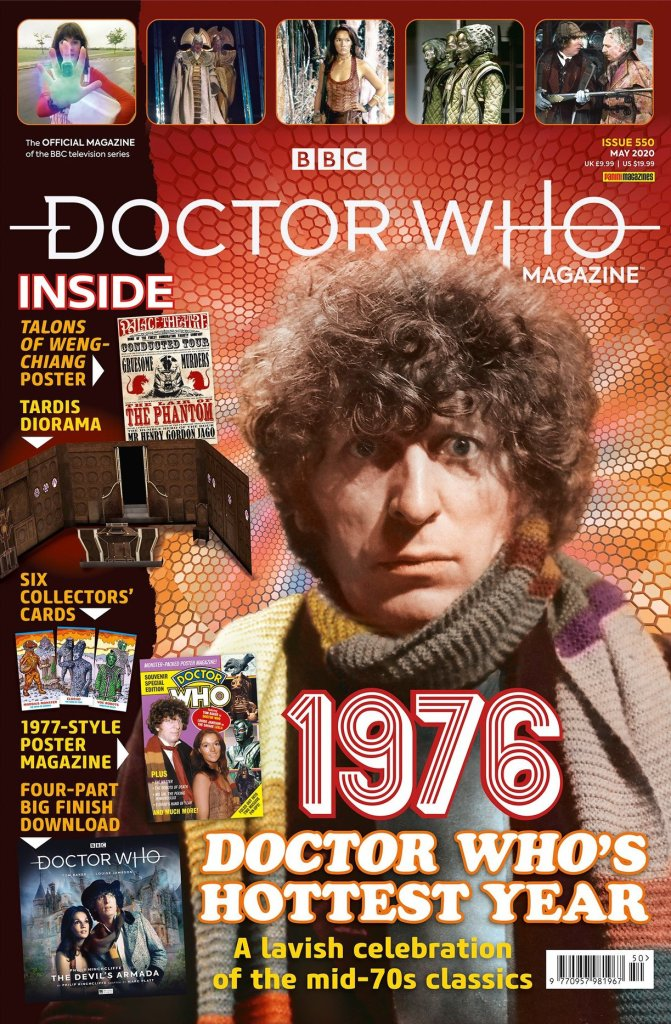 Doctor Who Magazine Issue 550 - Cover