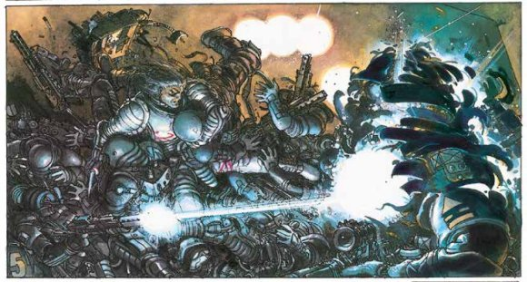 Art from The Metabarons, from the legendary duo of Alejandro Jodorowsky and artist Juan Gimenez