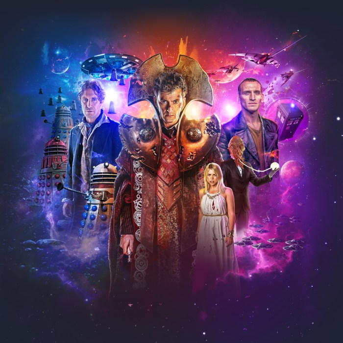 Doctor Who - Time Lord Victorious - art by Lee Binding