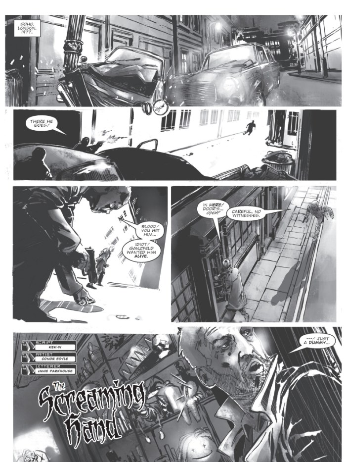 The 77 Issue 1 - The Screaming Hand Sample