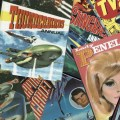 Gerry Anderson Comics Montage