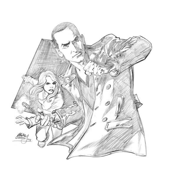 The Ninth Doctor by Mike Collins