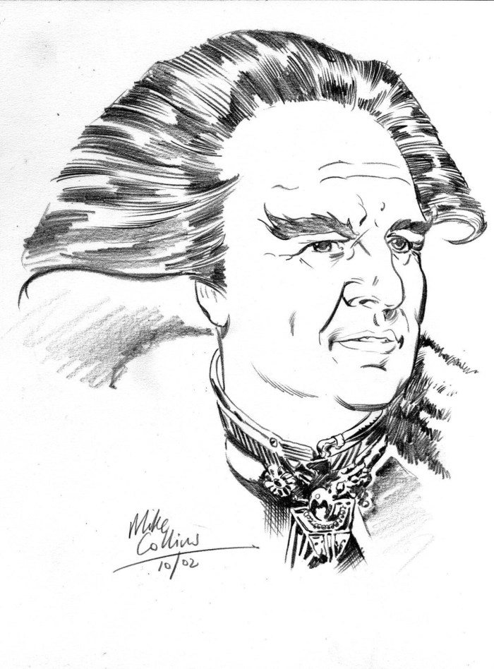 Babylon 5 Character Study by Mike Collins