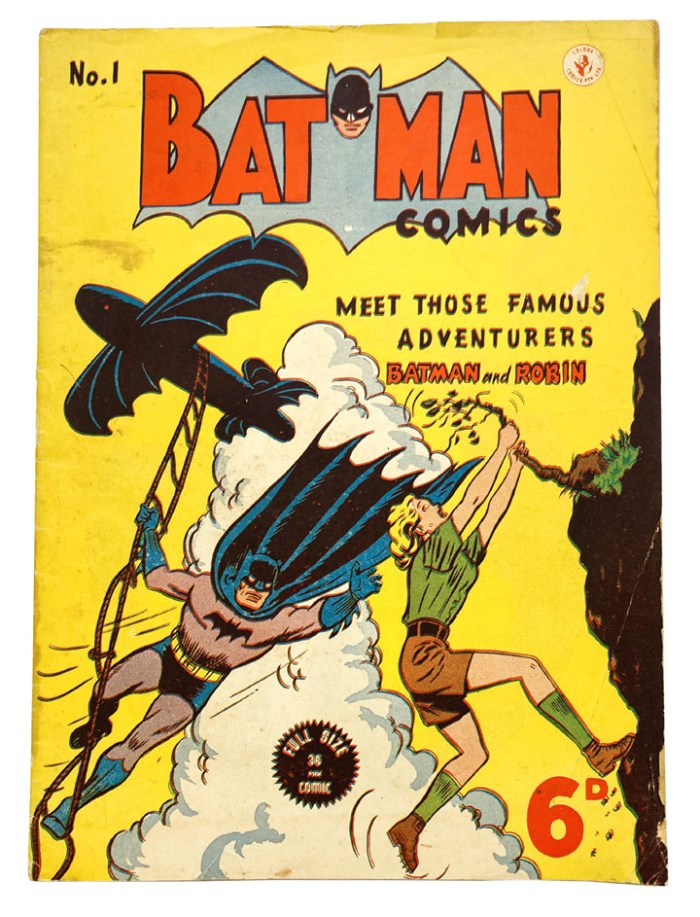 Batman 1 (1950 K.G. Murray Australian reprint)