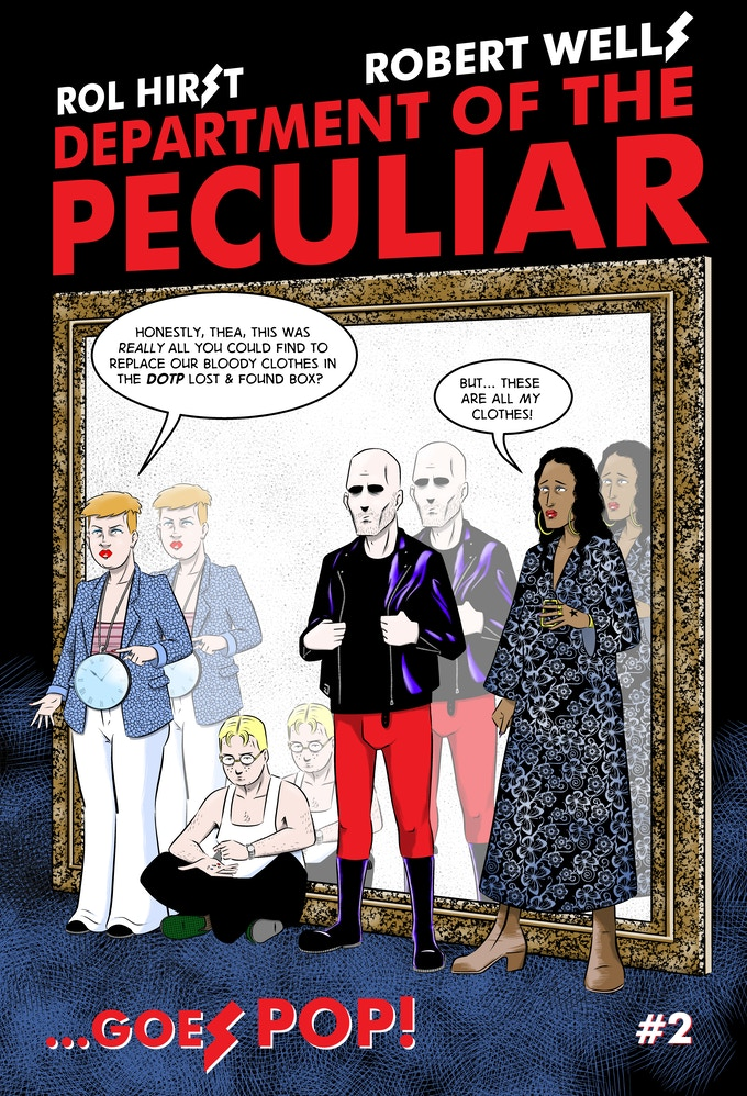 Department of the Peculiar Goes POP! #2 - Cover