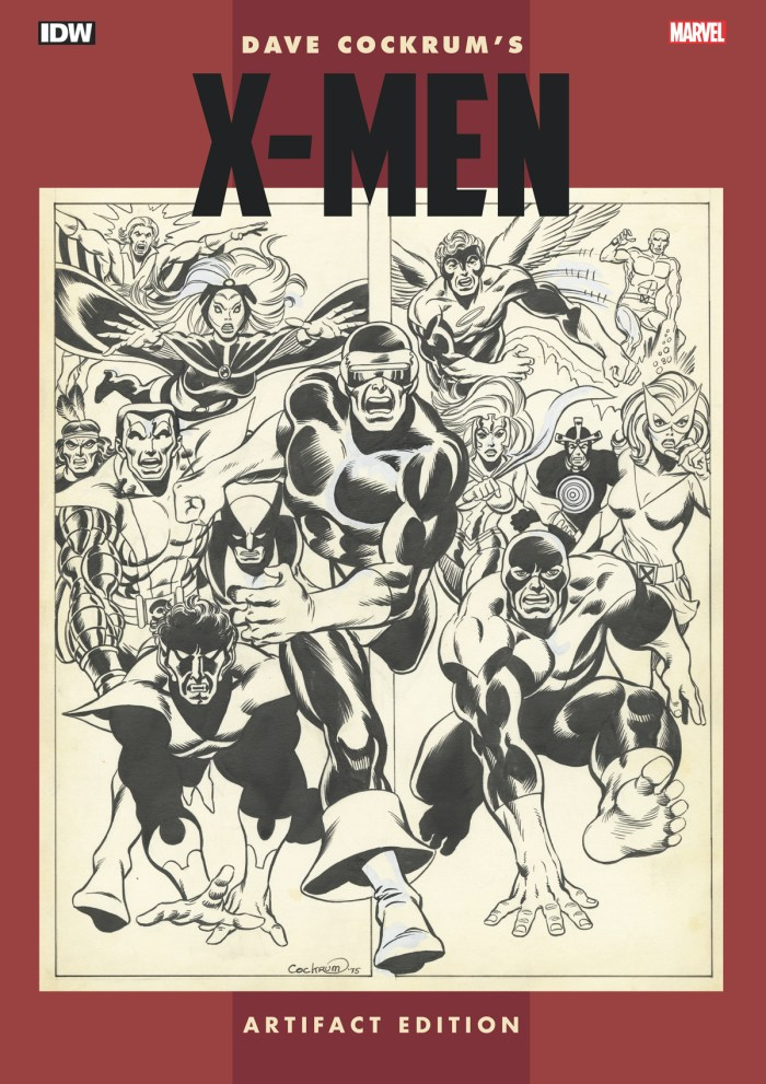 Dave Cockrum's X-Men Artifact Edition Hardcover
