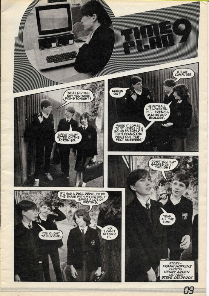 Load Runner - Time Plan 9 (Issues 1 - 6)