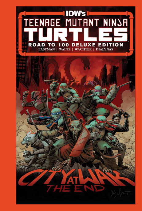 Teenage Mutant Ninja Turtles: The Road to 100 Deluxe Edition Hardcover