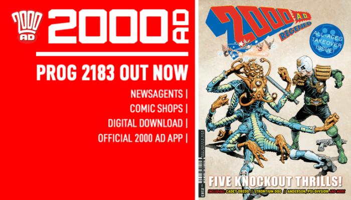2000AD Prog 2183 - Promo