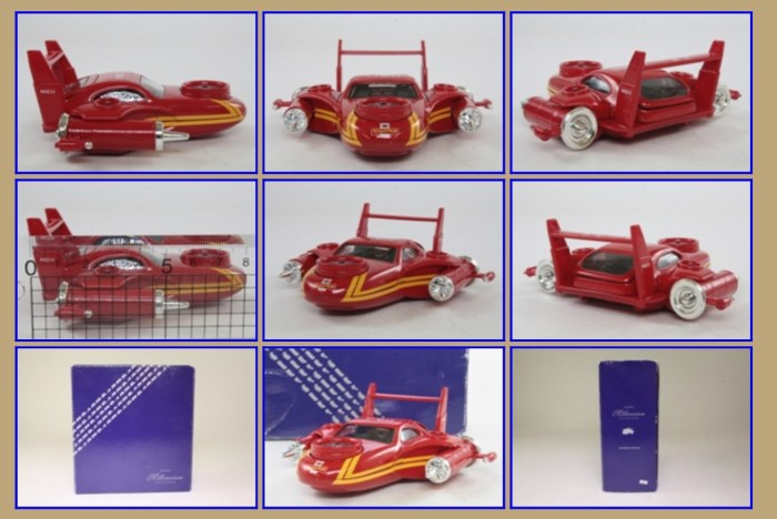 Corgi Royal Mail MCII Futuristic Car. Images via the Little Wheels Museum