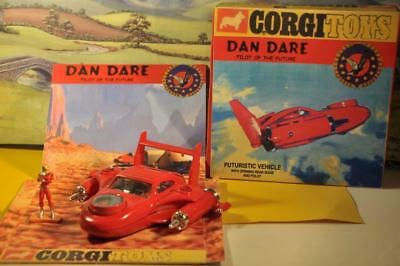 "The Corgi Royal Mail MCII Futuristic Car, customised into a ""Dan Dare Space Vehicle"". Image via eBay"